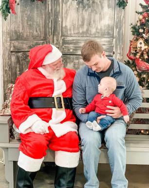 Santa at the Oak