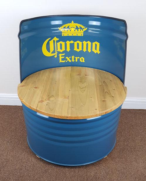 Corona barrel seat