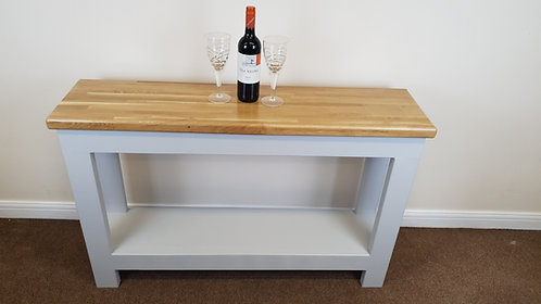 Console table side unit