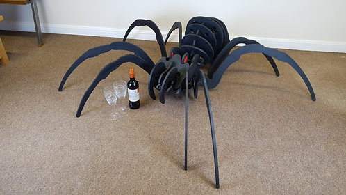 Giant wooden spider