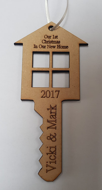 House Key First Christmas