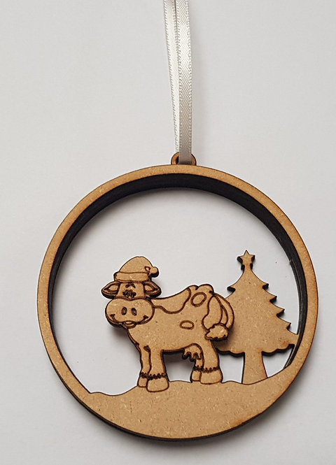 Moo Cow Bauble