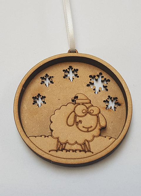 Sheep Lamb Bauble