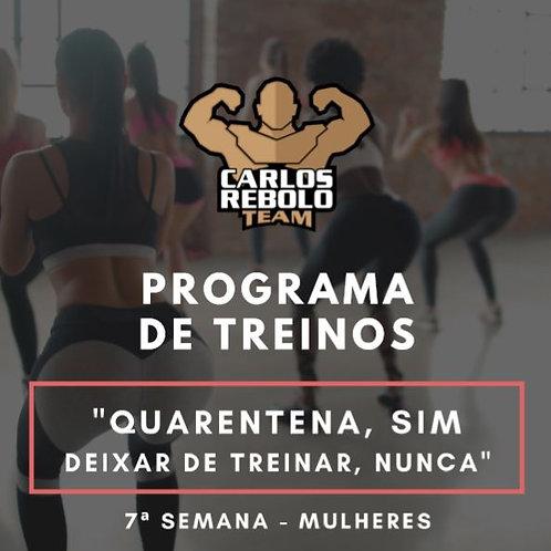 7ª SEMANA TREINO EM CASA | MULHER