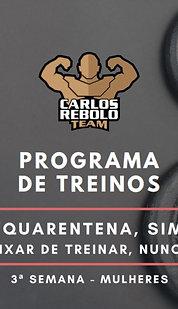 3ª SEMANA TREINO EM CASA   MULHER