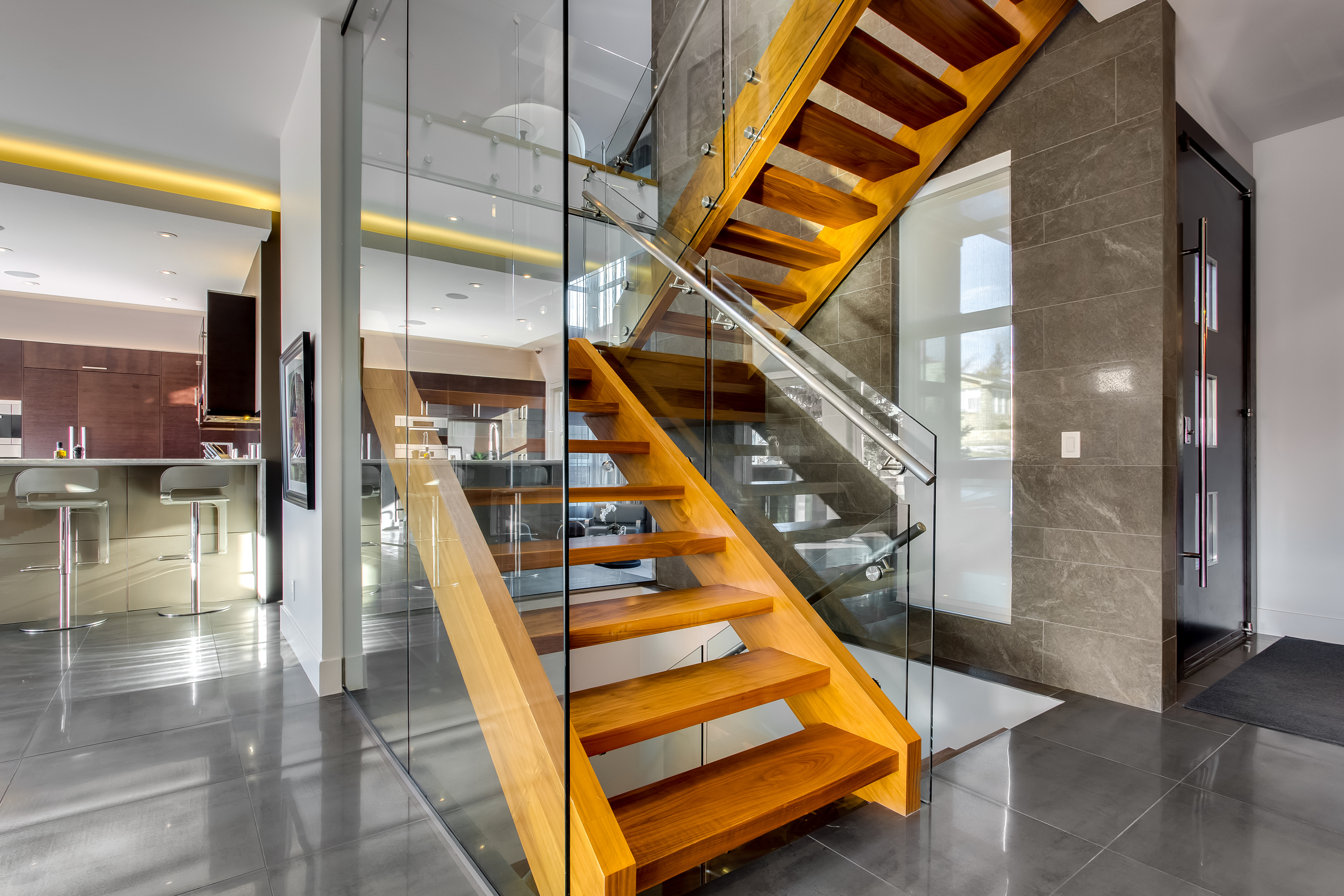 hdr photography staircase