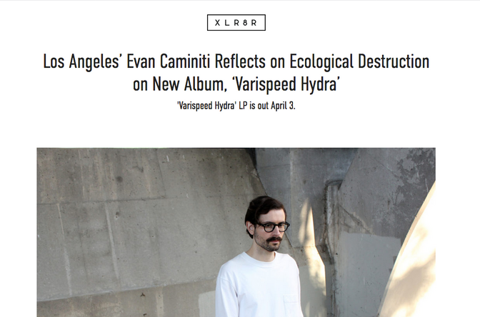 Evan Caminiti unveils new LP of vaporous eco-dread electronics