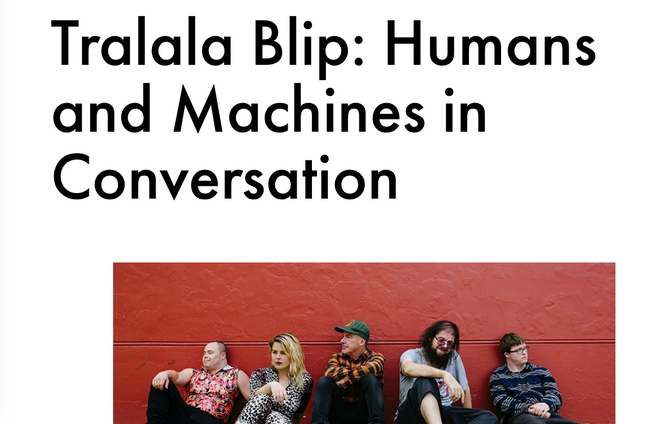 Tralala Blip interviewed by Ableton