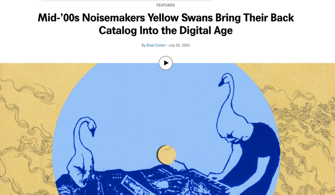 Yellow Swans unveil expansive Bandcamp archive