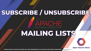 How to Subscribe / Unsubscribe Apache Mailing List