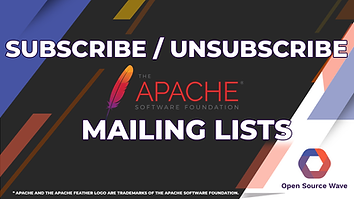Subscribe - Unsubscribe Apache Mailing L