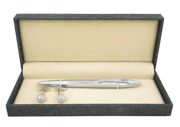 Hatton Fair Cufflinks & Pen Set Ref: CS-208