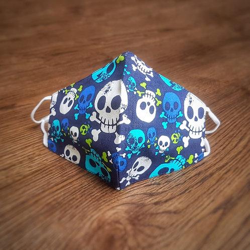 Kid's Cotton - Blue Pirate