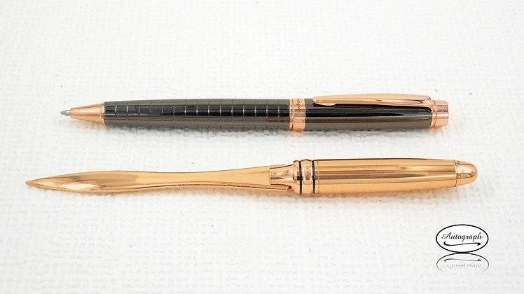 Rosegold Set of Pen & Letter-opener