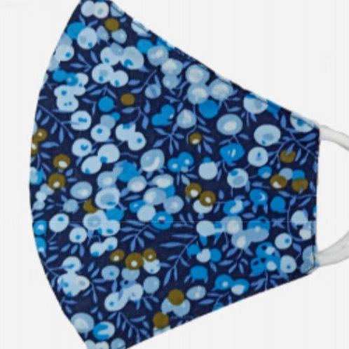 Adult Cotton - Sapphire Floral