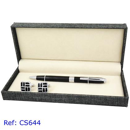 Hatton Fair Cufflinks & Pen Set Ref: CS-644