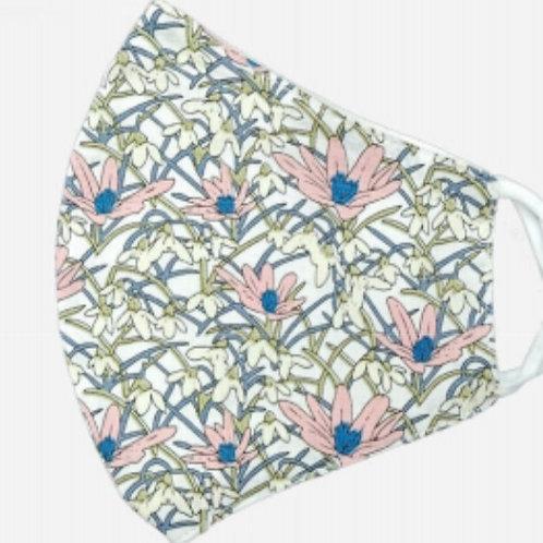 Adult Cotton - Floral Weave