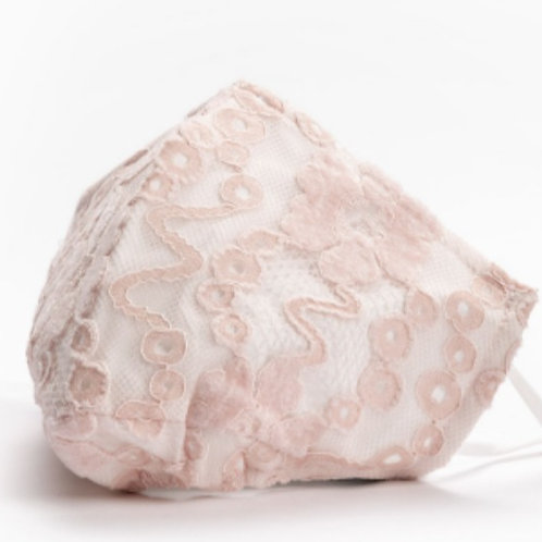 Adult Lace - Pink & White