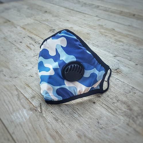 Adult SILVADUR™ Fabric and Valve - Blue Camo