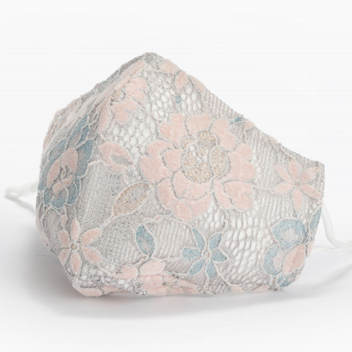 Adult Lace - Pink & Blue