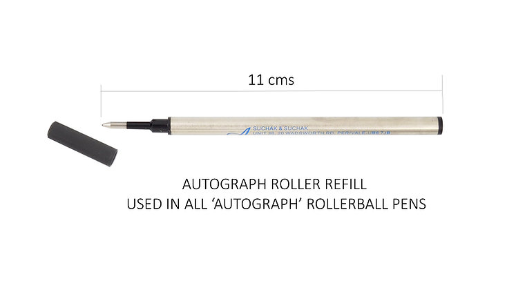 Rollerball Refills Black (pack/3)