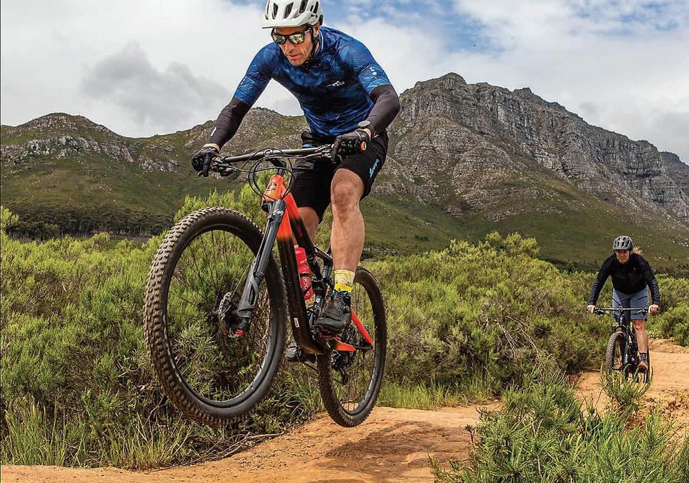 Skills training in Mountain Bike mag