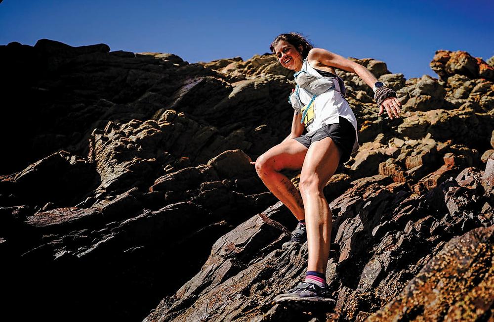 Toni McCann trail star