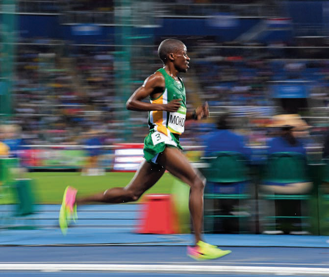 Stephen Mokoka, Olympic hopeful