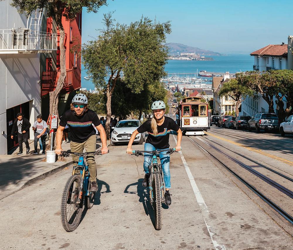 Biking in California
