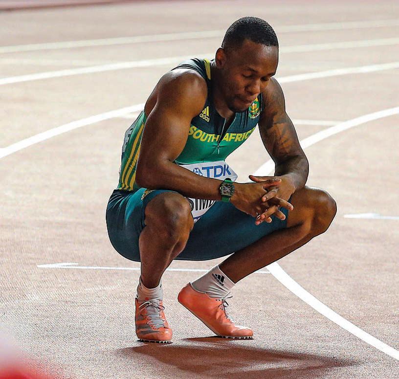 Akani Simbine, Olympic hopeful