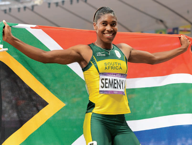 Caster Semenya Olympic hopeful