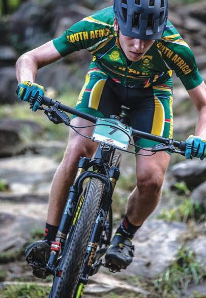 Luke Moir, mountain biker
