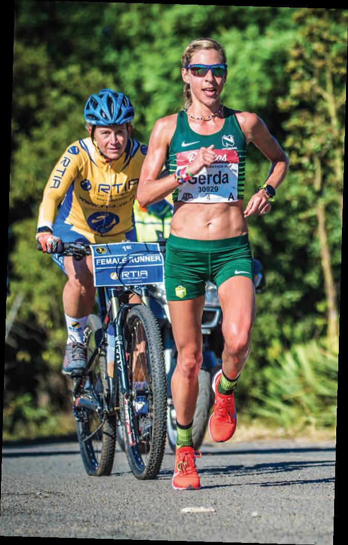 Gerda Steyn, Olympic hopeful