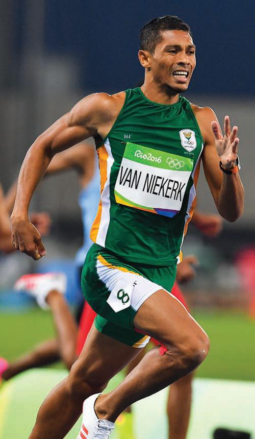 Wayde van Niekerk, 400m world record holder