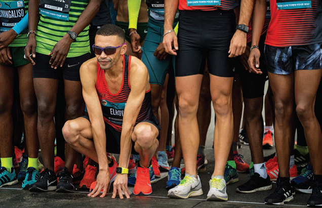 Elroy Gelant, Olympic hopeful