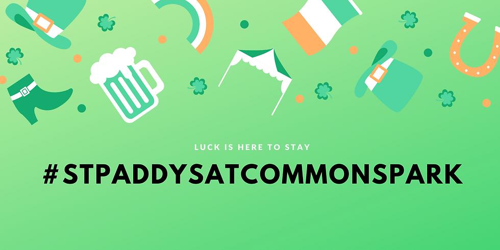#STPADDYSATCOMMONSPARK