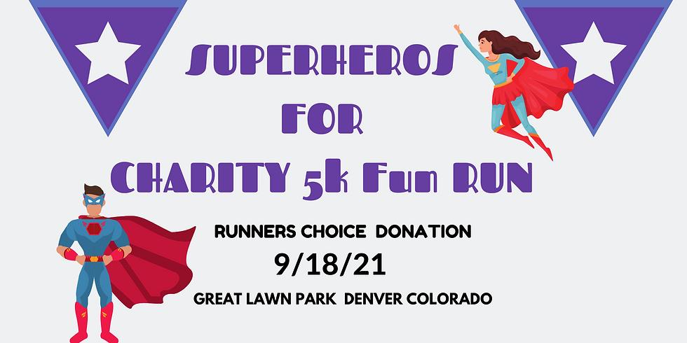 Superheros For Charity 5k Fun Run