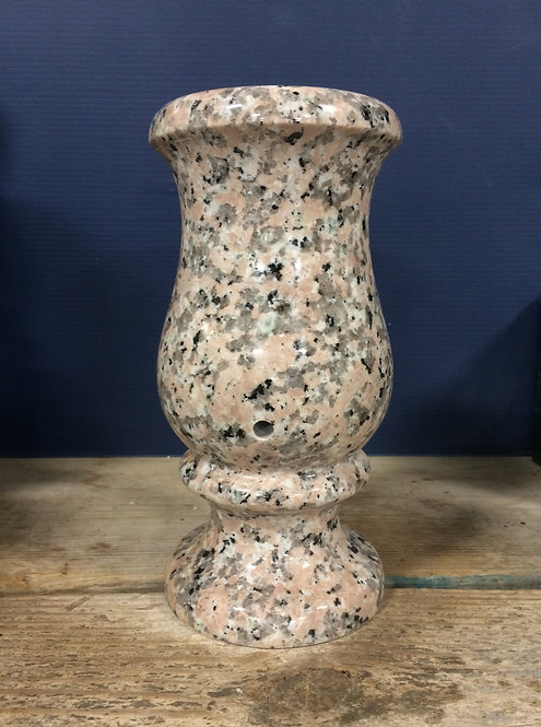 Tropical Sunrise Granite Monument Vase 9x5-C