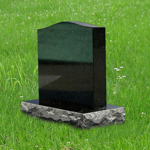 MN-67 Black Granite Mini Monument/ Pet Marker