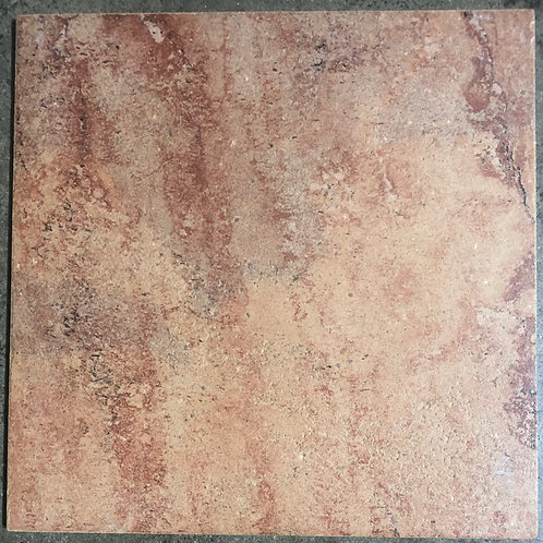 12x12 Magma Red Ceramic Floor Tile T-78