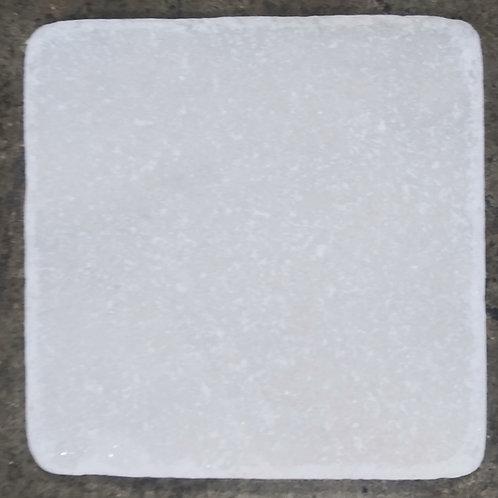 White Carrera Marble Tile Honed 4x4x3/8 T-114