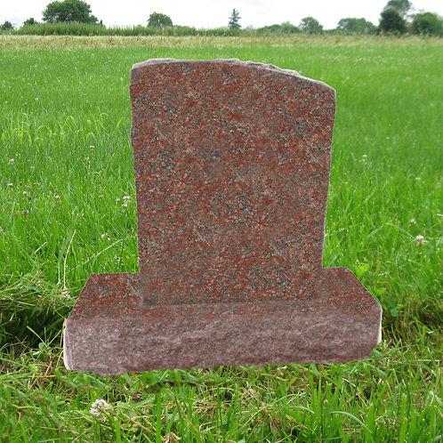 MN-221 India Red Granite Half Serpentine Top