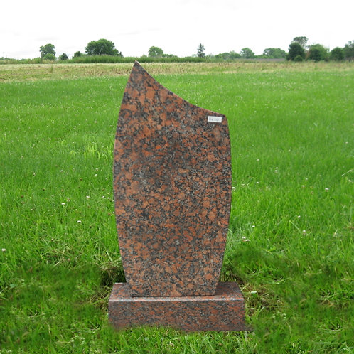 MN-126 Canyon Red Headstone
