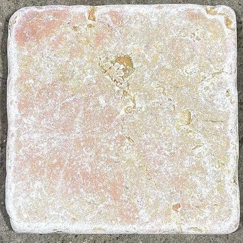 Rosa Verona Natural Stone 4x4 Backsplash Tile T-92