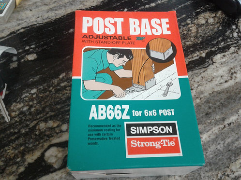 Simpson Strong Tie Post Base Adjust AB66Z