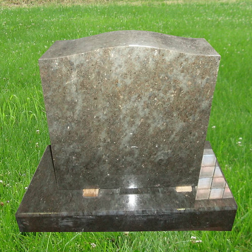 MN-116 Tropical Green Granite Small Upright Stone