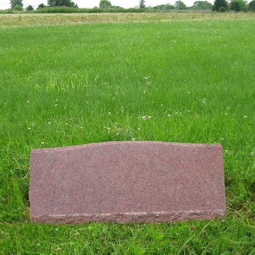 MN-167 India Red Granite Slant Marker