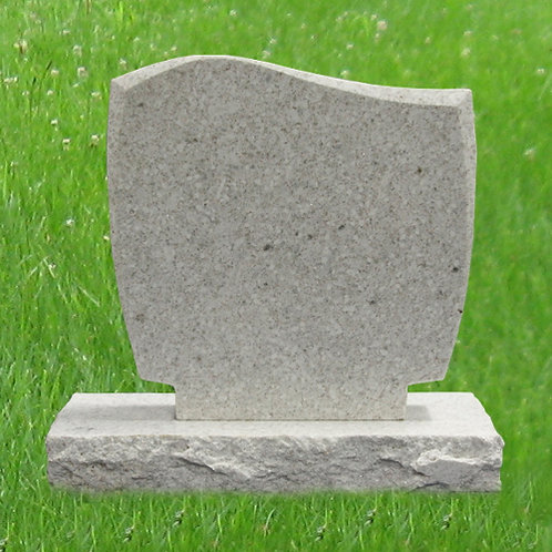 MN-77* White Pearl Granite Mini Grave Marker