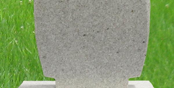 MN-77* White Pearl Granite Mini Grave Marker | stonespectrummn