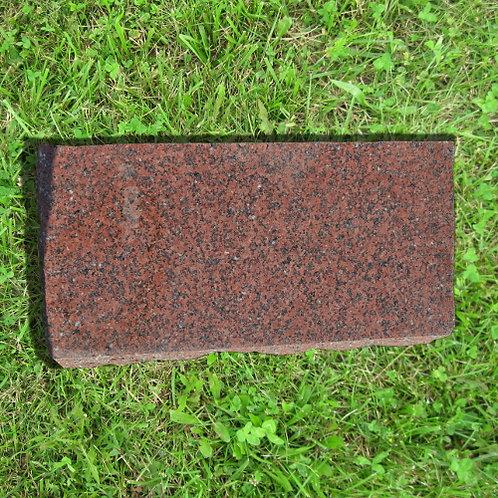 MN-136 India Red Granite Wedge Memory Stone